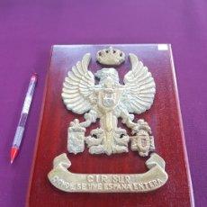 Militaria: METOPA C.I.R SUR, DONDE SE UNE ESPAÑA ENTERA. Lote 172210904