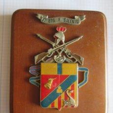 Militaria: METOPA PLACA 47 BTG F. SALENTO. Lote 172964903