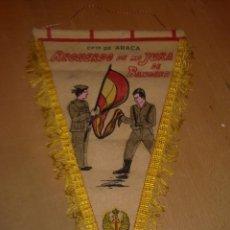 Militaria: BANDERIN RECUERDO DE LA JURA DE BANDERA DEL CIR 11. Lote 172988157