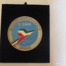 Militaria: METOPA SALONE DELL' AVIAZIONE 3º SAVIA FORLI - 29-9-1988 - 22,5X19. Lote 173503273