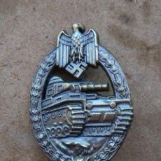 Militaria: INSIGNIA PANZERKAMP. BRONCE .TERCER REICH. NAZI. Lote 173522398