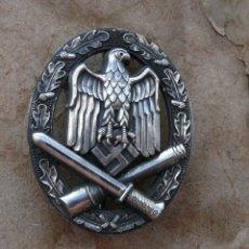 Militaria: INSIGNIA DE ASALTO GENERAL.PLATA.TERCER REICH. NAZI. Lote 174007667