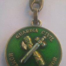 Militaria: GUARDIA CIVIL HOMBRES DE HONOR LLAVERO METAL ESMALTADO. Lote 174248730