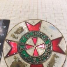 Militaria: PLACA DE PECHO CLÍNICA ARGUESO. Lote 174436443