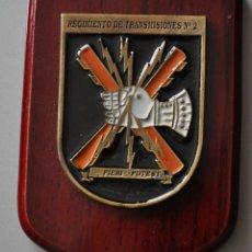 Militaria: METOPA REGIMIENTO DE TRANSMISIONES. Lote 175213845