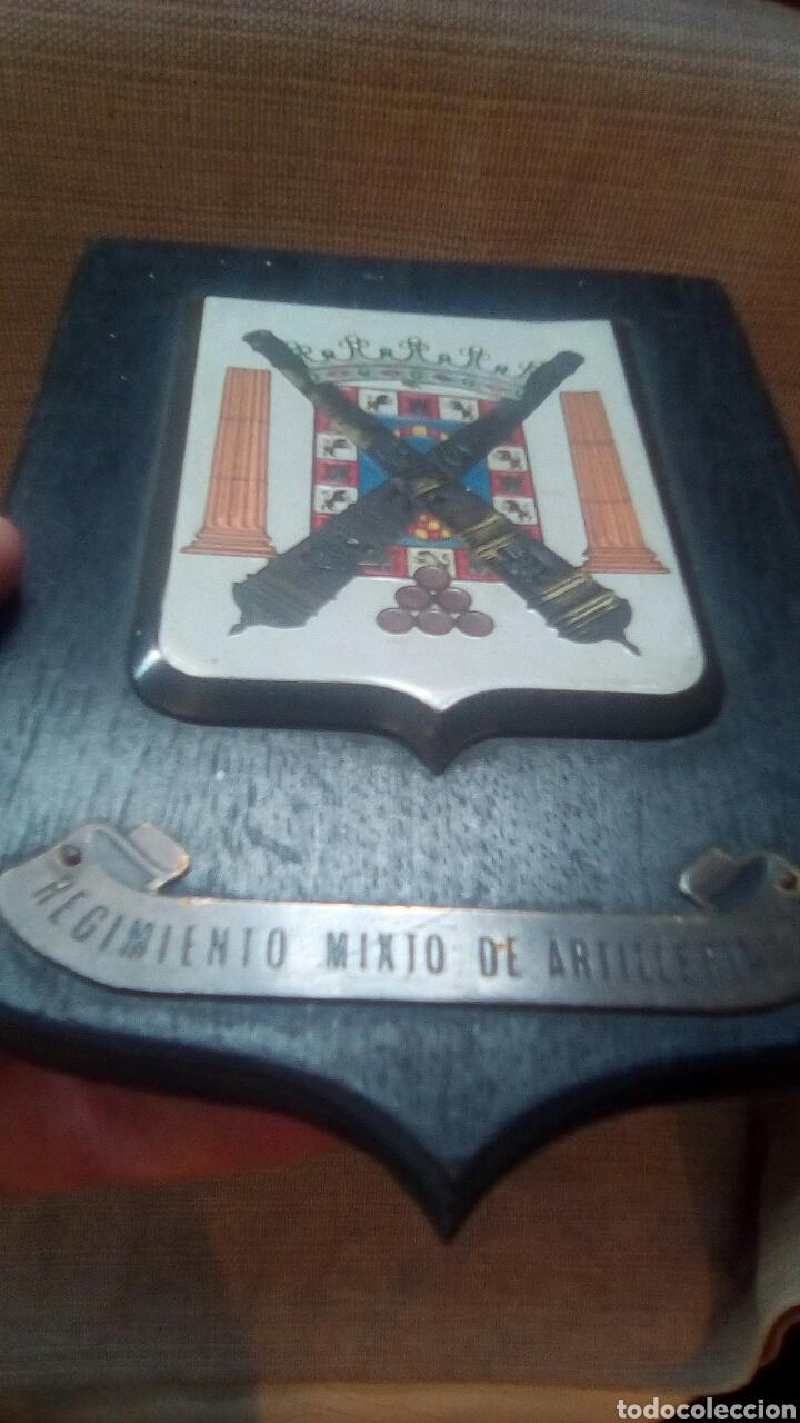 Militaria: Metopa Regimiento mixto de artilleria 32 - Foto 3 - 175486845
