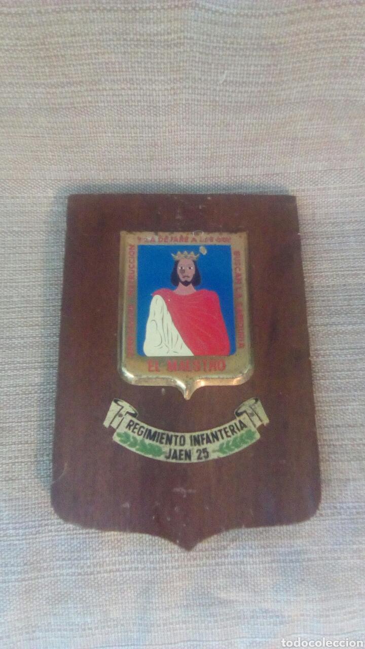 METOPA REGIMIENTO INFANTERIA JAÉN 25 (Militar - Reproducciones, Réplicas y Objetos Decorativos)