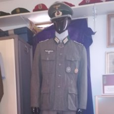 Militaria: REPLICA UNIFORME ALEMAN+CONDECORACIONES.REPLICA. Lote 175531680