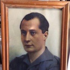 Militaria: LITOGRAFÍA A COLOR DE JOSE ANTONIO PRIMO DE RIVERA. Lote 175723259