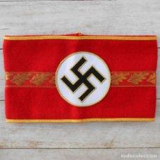 Militaria: BRAZALETE DEL NSDAP PARA JEFES MUNICIPALES. Lote 175747667