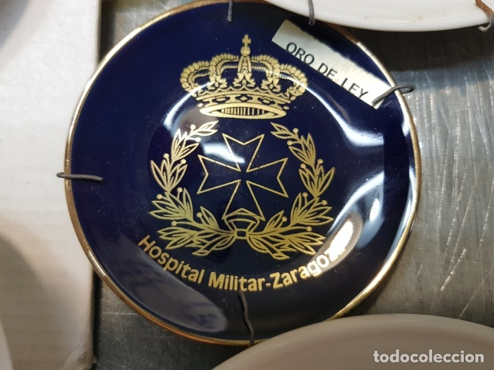 Militaria: Lote Ceniceros antiguos porcelana militares lote 23 algunos difíciles - Foto 7 - 175820907