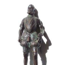 Militaria: FIGURA DE FELIPE II.- MEDIDAS APROXIMADAS 30 CM ALTO. FABRICADA EN ESPAÑA.. Lote 175938303