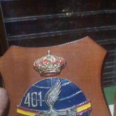 Militaria: ANTIGUA METOPA AÑOS 70 80 DE LAS FUERZAS AÉREAS ESPAÑOLAS. Lote 175969969