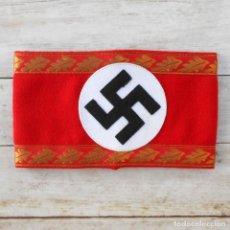 Militaria: BRAZALETE DEL NSDAP PARA JEFES DEPARTAMENTO. Lote 176225468