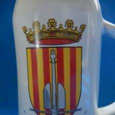 Militaria: ARMADA ESPAÑOLA. JARRA DE CERVEZA. FRAGATA CATALUÑA. Lote 176343795