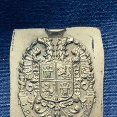 Militaria: PLACA BRONCE ESCUDO ACADEMIA MILITAR IPIET TOLEDO CAPILLA S IX. Lote 177505137