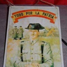Militaria: CHAPA GUARDIA CIVIL TODO POR LA PATRIA. Lote 177952660