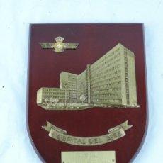 Militaria: METOPA DEL HOSPITAL DEL AIRE. AVIACION, MEDICINA, MIDE 25 CMS APROX.. Lote 178252952