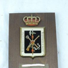 Militaria: METOPA DE LA LEGION, LEGIONARIOS A LUCHAR, LEGIONARIOS A MMORIR, MIDE 25 CMS APROX.. Lote 178253086