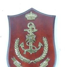 Militaria: METOPA DEL SANATORIO DE MARINA LOS MOLINOS, MEDICINA, MIDE 25 CMS APROX.. Lote 178253301