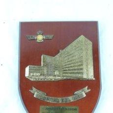 Militaria: METOPA DEL HOSPITAL DEL AIRE, AVIACION, JORNADAS RADIOLOGICAS, MIDE 25 CMS APROX.. Lote 178253433