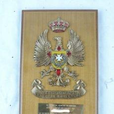 Militaria: METOPA DEL HOSPITAL MILITAR GENERALISIMO FRANCO, SANIDAD MILITAR DEL AIRE, AVIACION, MIDE 25 CMS APR. Lote 178253857