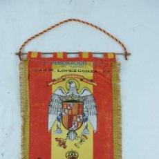 Militaria: BANDERIN DE LA CONMEMORACION DEL SOLDADO JUAN M. LOPEZ GONZALEZ 1981, AVIACION, MIDE 34 CMS. APROXIM. Lote 178253982