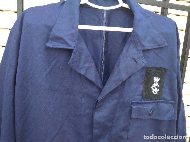 Militaria: Mono azul mahón guerra civil española - Foto 3 - 178351733