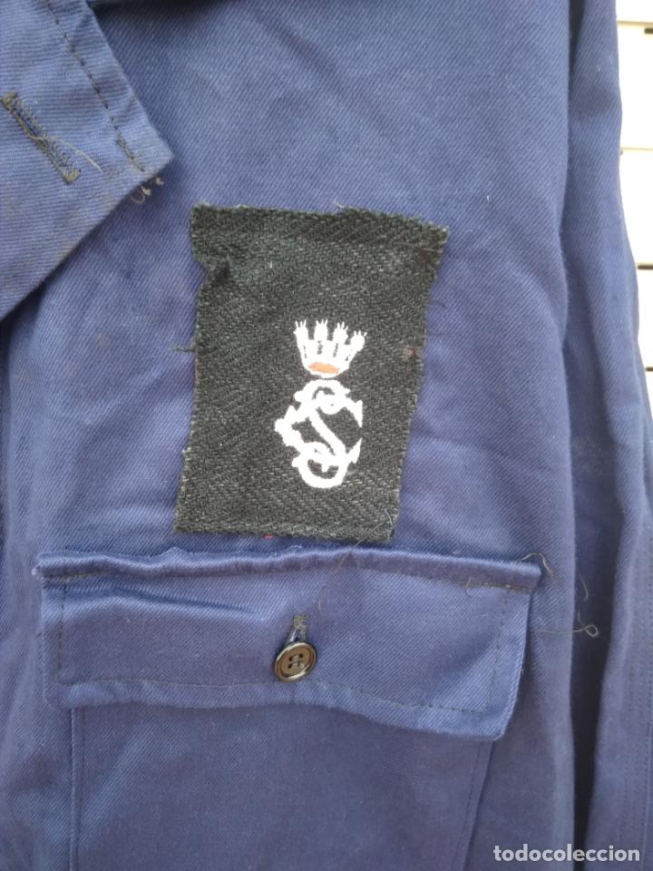 Militaria: Mono azul mahón guerra civil española - Foto 4 - 178351733