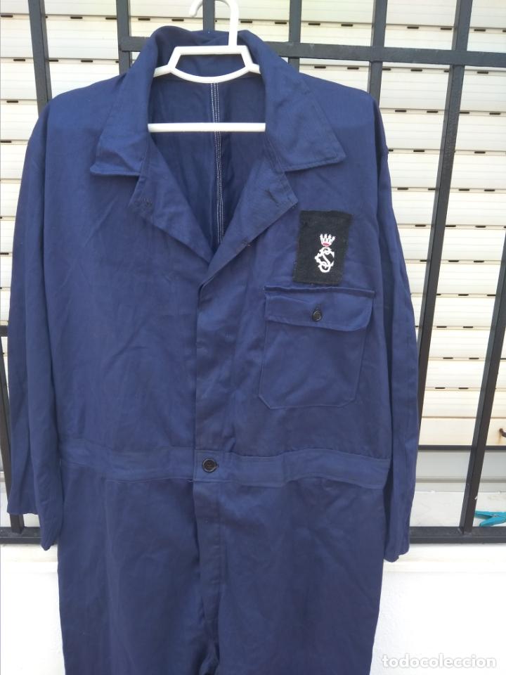 Militaria: Mono azul mahón guerra civil española - Foto 5 - 178351733