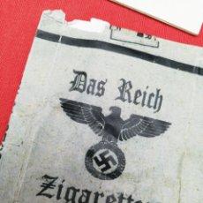 Militaria: PAQUETE CIGARRILLO CON ESBASTICA NAZI.... Lote 178920430