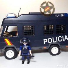 Militaria: ESTUPENDO CONJUNTO DE PLAYMOBIL CUSTOMIZADO DE LA U.I.P. DEL CNP CON AGENTE INCLUIDO EXCELENTE CALID. Lote 178982206