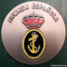 Militaria: PLACA METALICA. ARMADA ESPAÑOLA. Lote 179219628