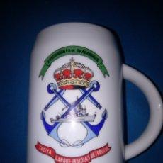 Militaria: JARRA DE MARINA ( 2°ESCUADRILLA DE DRAGAMINAS). Lote 179550542