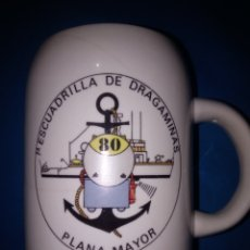 Militaria: JARRA DE MARINA ( 1°ESCUADRILLA DE DRAGAMINAS -- PLANA MAYOR). Lote 179551866