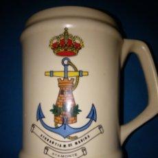 Militaria: JARRA DE MARINA ( AYUDANTÍA DE MARINA DE AYAMONTE ). Lote 179552390