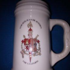 Militaria: JARRA MILITAR (TERCIO DIN JUAN DE AUSTRIA III DE LA LEGIÓN). Lote 179552822