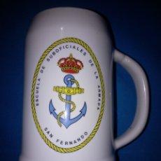 Militaria: JARRA DE MARINA ( ESCUELA DE SUBOFICIALES DE LA ARMADA. Lote 179553003