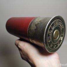 Militaria: CARTUCHO CAZA GRAN TAMAÑO--CIGARRERA -DISPENSADOR TABACO--- REF-CV. Lote 179953088