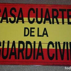 Militaria: CHAPA GUARDIA CIVIL CASA CUARTEL DE LA GUARDIA CIVIL. Lote 180209316