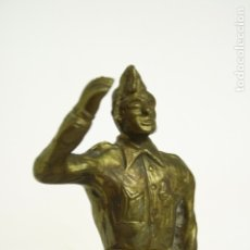 Militaria: FIGURA BRONCE JOSE MILLÁN ASTRAY HECHA EN TRUBIA, ASTURIAS. ARTE MILITAR. ESPAÑA. Lote 180388066