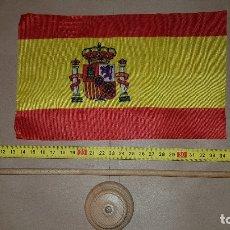 Militaria: PEANA CON BANDERA DE ESPAÑA. Lote 180399160