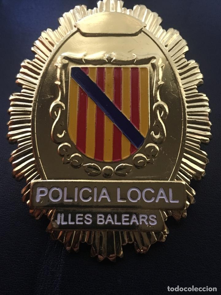 Militaria: PLACA POLICIA LOCAL ILLES BALEARS ISLAS BALEARES - Foto 3 - 180994956