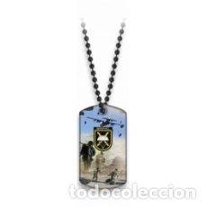 Militaria: PLACA IDENTIFICATIVA CON BOLAS DE LA BRIPAC. Lote 181533836