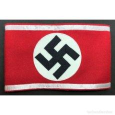 Militaria: BRAZALETE DE LA SA STURMABTEILUNG NSDAP ALEMANIA PARTIDO NAZI TERCER REICH. Lote 182222198