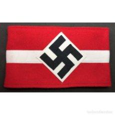 Militaria: BRAZALETE HITLERJUGEND JUVENTUDES HITLERIANAS ALEMANIA PARTIDO NAZI TERCER REICH NSDAP. Lote 194321707