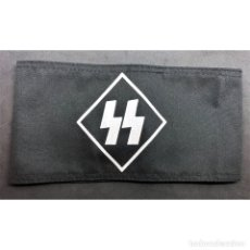 Militaria: BRAZALETE SS SCHUTZSTAFFEL ALEMANIA PARTIDO NAZI TERCER REICH. Lote 230230480