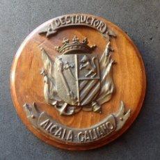 Militaria: (JX-191106)METOPA DESTRUCTOR ALCALA GALIANO .. Lote 182261648