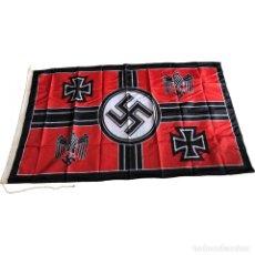 Militaria: BANDERA KRIEGSMARINE 90 X 150 CM ALEMANIA TERCER REICH PARTIDO NAZI WEHRMACHT. Lote 194321788