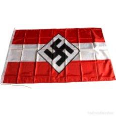 Militaria: BANDERA HITLERJUGEND 90 X 150 CM ALEMANIA TERCER REICH PARTIDO NAZI WEHRMACHT. Lote 203817996